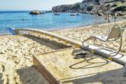 Plage accessible Crete