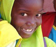 Visage d'enfant au Sénégal