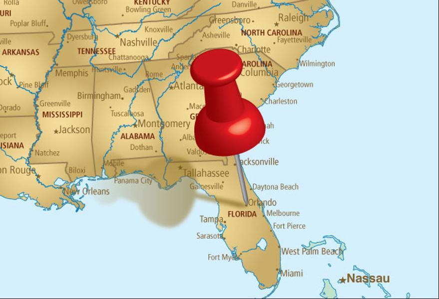 Carte Amerique Floride.Floride Adaptours Voyages Adaptes Personnes Mobilite Reduite